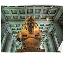 Bust of Amenhotep III - British Museum Poster