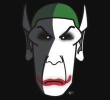 Not Spock as Not Joker by jayveezed