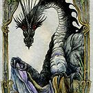 Black Dragon Tal Git by morgansartworld
