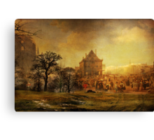 A glance into the past  Canvas Print