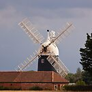 Tuxford Windmill Nottinghamshire by Ray Clarke