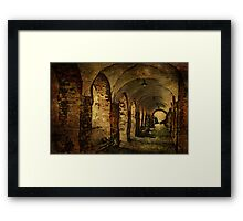 Arches at the house of the Holy Ghost Framed Print