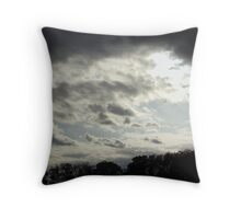 If only they rained candy Throw Pillow
