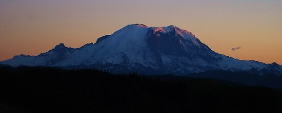Summer Sunset on Rainier by Tori Snow