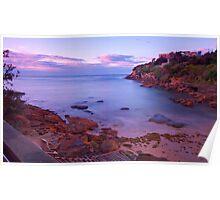 Gordons bay sun rise Poster