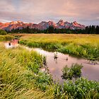 Blacktail Ponds in Grand Teton National Park by cavaroc