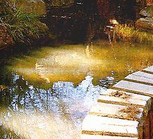 sacred golden pond... mystical place by banrai