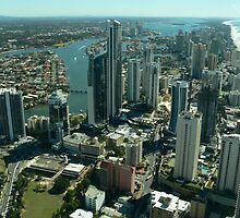 Flying over the Gold Coast by PhotosByG