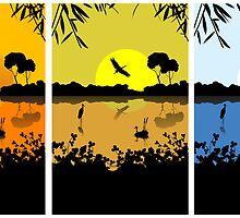 RGB LAKE by Richard Laschon