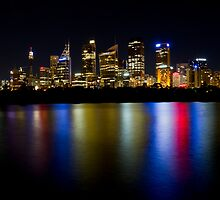 City Light, Sydney, Australia by Spir0