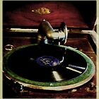 Old gramophone by Deb Gibbons