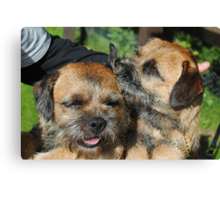 Get yer nose oot ma lug!!! Canvas Print