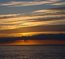 Sunset skies, Cromer. by BizziLizzy