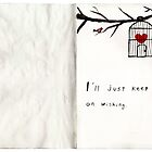 The Sketchbook Project - caged heart by Dorothea Baker