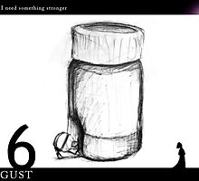 August 16th - I think I need something stronger by 365 Notepads -  School of Faces