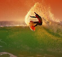 Sunset Surfer by GTimages