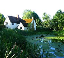 Willie Lott's Cottage - in England's Constable Country by UGArdener