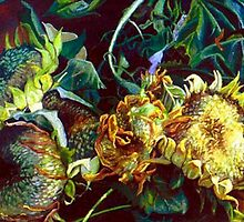 Sunflowers by Cameron Hampton