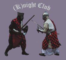 Medieval (K)night Club T-shirt design. Kids Clothes