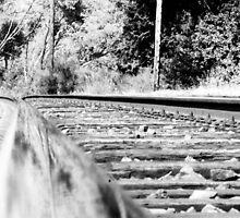 Rail Reflections by shilohrachelle