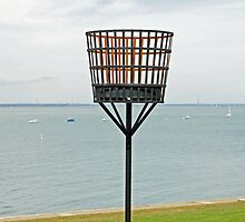 Beacon on Yarmouth Common by Rod Johnson
