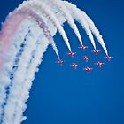 Red Arrows I by TheWalkerTouch
