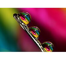Tropical Droplets Photographic Print