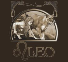 Leo tee by Ivy Izzard