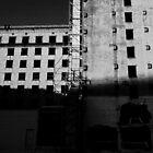 A Building Under Renovation by amdrecun