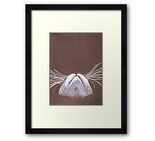 Just the cats whiskers Framed Print