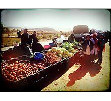 Beautiful Algeria - Village Market Photographic Print