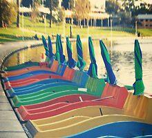'Paddle Boats' by Luke Weinel