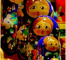 Russian Dolls (Babushka) by Deb Gibbons