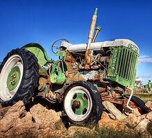 Retired Tractor by Scott Carr