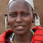 Maasai Woman by Scott Carr