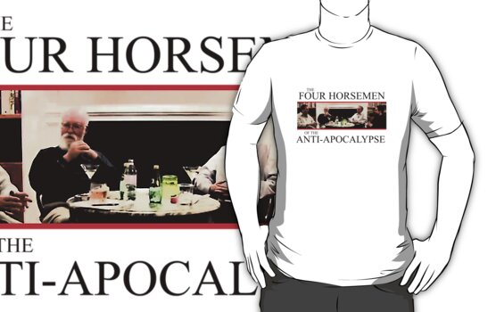 The Four Horsemen of the Anti-Apocalypse (black text)  by Groatsworth