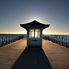 Halo - View of Swanage Pier Dorset by silvcurl09