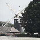 Tuxford Windmill by Audrey Clarke