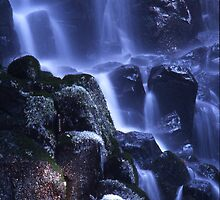 Frosty Cascade by imager1