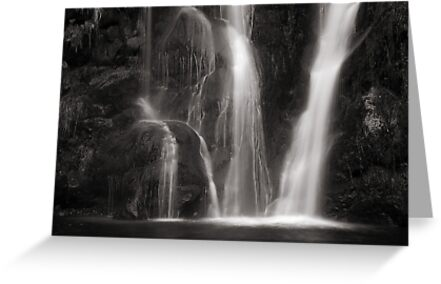 Waterfall, Valley of Desolation by Dave Milnes