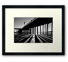 In The Light, Seeing The Shadows Framed Print