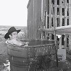Cowboy's Bath Tub by wildfiremare