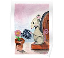 Miss Mouse Tends House Poster