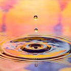 Colorful drop of water by Martin Lačný