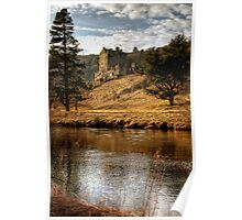 Late Afternoon, Neidpath Castle Poster