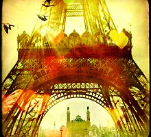 Le Soleil à Paris (The Sun in Paris) by wolfandbird