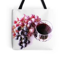 Red wine Tote Bag