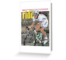 RIDE Cycling Review Issue 29 Greeting Card