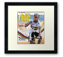 RIDE Cycling Review Issue 46 Framed Print
