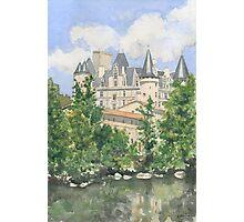 The Château, La Rochefoucauld, France Photographic Print